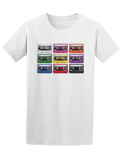 Collection Audio Cassette Tapes Tee Men's -Image by Shutterstock