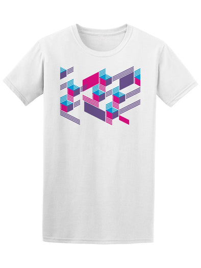 Creative Geometric Design Tee Men's -Image by Shutterstock