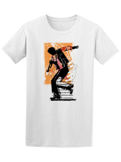 Jazz Trumpet Player Music Tee Men's -Image by Shutterstock