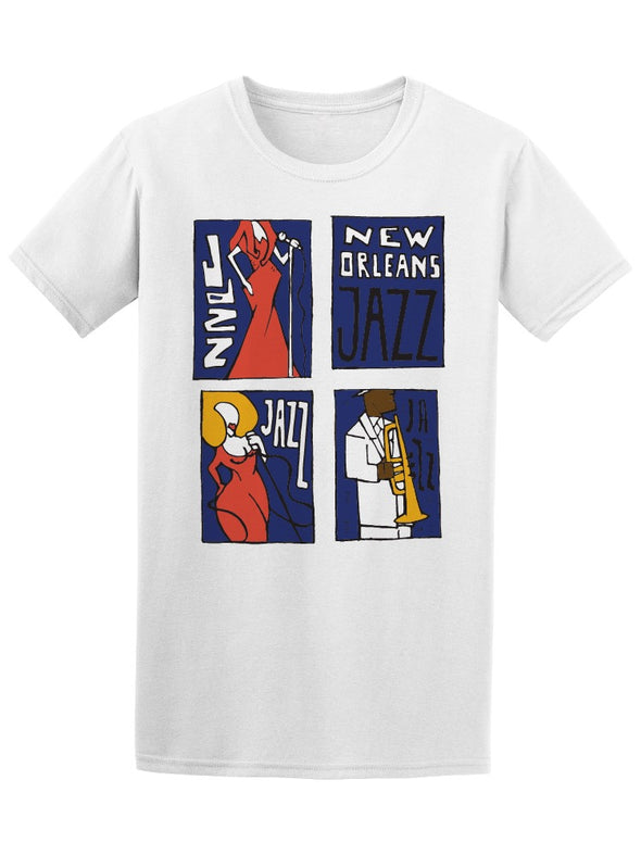 Jazz Music Festival New Orleans Tee Men's -Image by Shutterstock