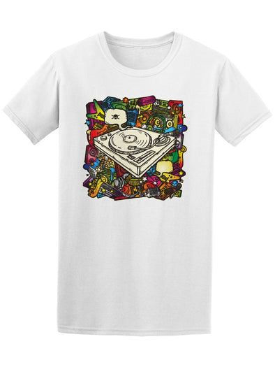 Music In Color Doodle Tee Men's -Image by Shutterstock