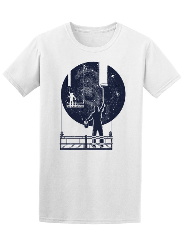Window Cleaners Of The Universe Tee Men's -Image by Shutterstock