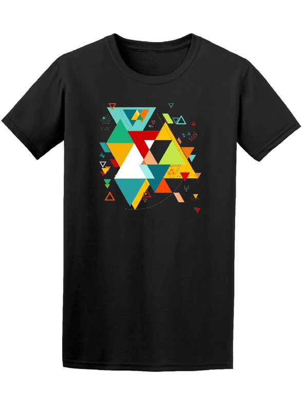 Abstract Modern Geometric Tee Men's -Image by Shutterstock