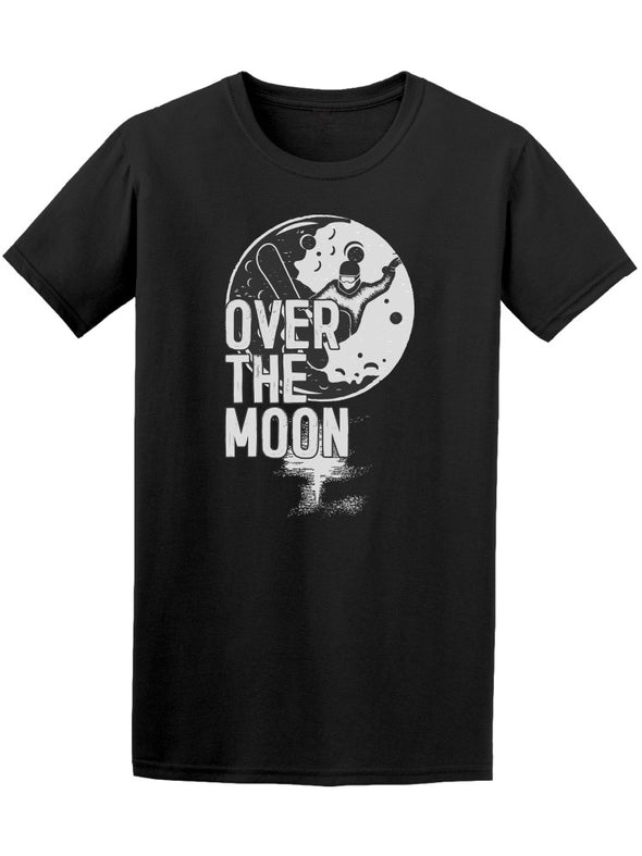 Over The Moon Tee Men's -Image by Shutterstock