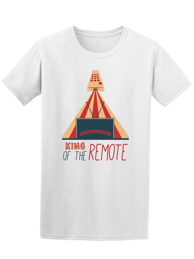 King Of The Remote Tv Tee Men's -Image by Shutterstock