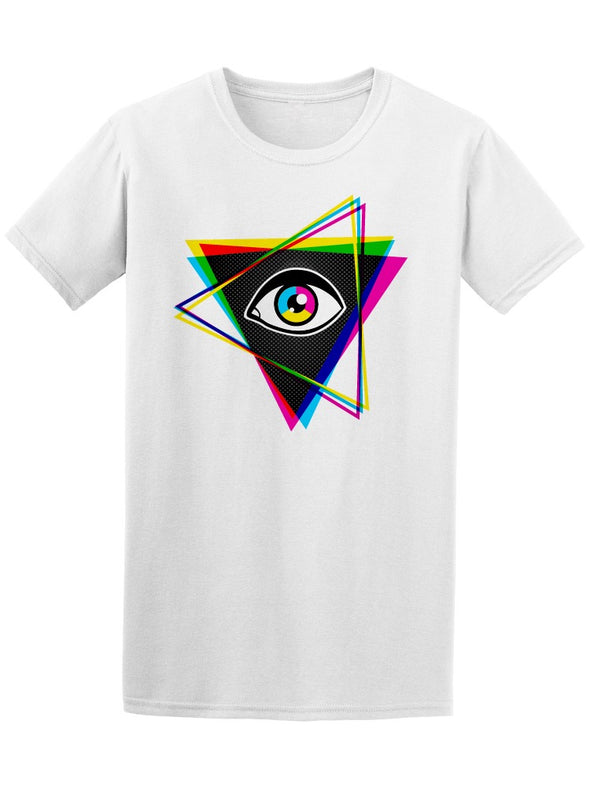 Hipster Eye Inside Triangle Tee Men's -Image by Shutterstock
