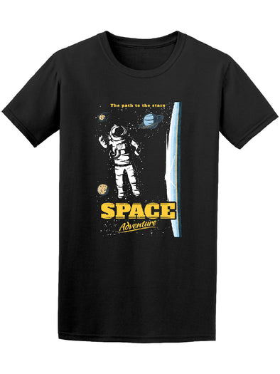 Space Adventure Path 2 The Stars Tee Men's -Image by Shutterstock