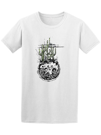 Moon Cactus And Desert Plants Tee Men's -Image by Shutterstock