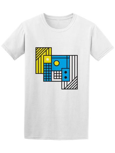 Cool Abstract House Graphic Tee Men's -Image by Shutterstock