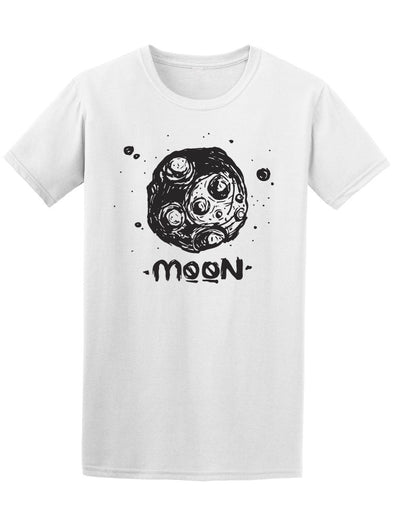 Drawing Of The Moon Tee Men's -Image by Shutterstock