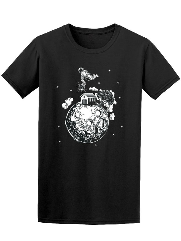 Home On The Moon Tee Men's -Image by Shutterstock