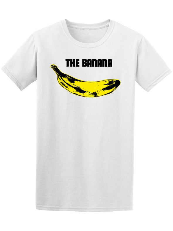 The Banana, Pop Art. Tee Men's -Image by Shutterstock