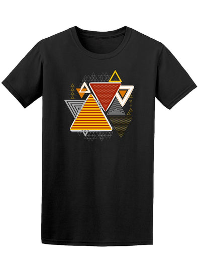 Cool Abstract Triangles Tee. Men's -Image by Shutterstock