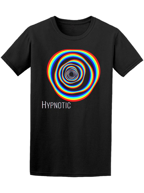 Colorful Shape Hypnotic Tee Men's -Image by Shutterstock