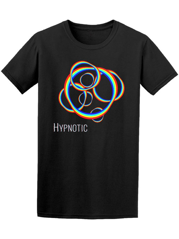 Cool Colorful Figures Hypnotic Tee Men's -Image by Shutterstock