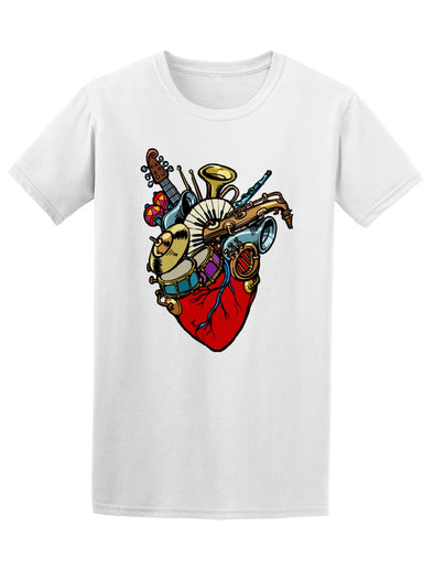 Music In The Heart Tee. Men's -Image by Shutterstock