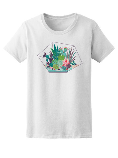 Cool Abstract Cactus Collage Tee Women's -Image by Shutterstock