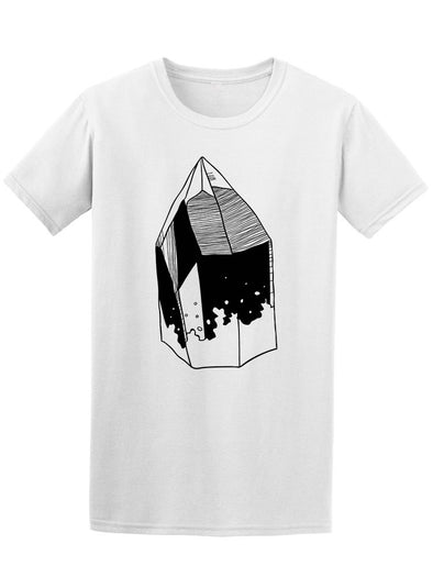 Black Ink Crystal Tee Men's -Image by Shutterstock