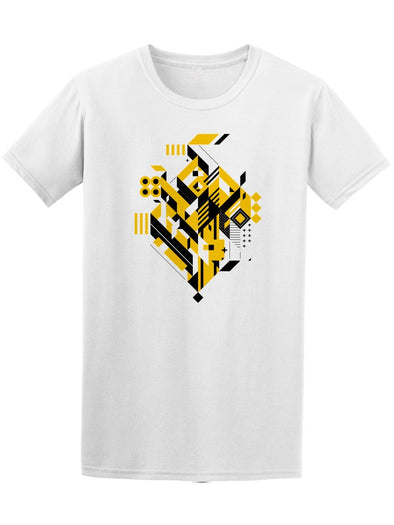 Geometric Shapes Modern Art Tee Men's -Image by Shutterstock