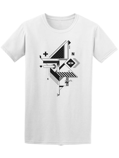 Abstract Cubism Constructivism Tee Men's -Image by Shutterstock