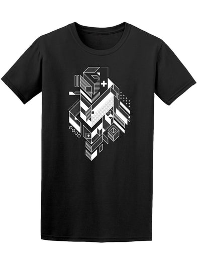 Abstract Geometric Element Tee Men's -Image by Shutterstock