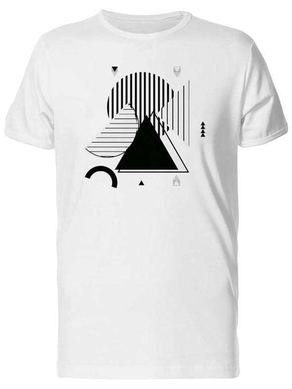 Geometric Shapes Tee Men's -Image by Shutterstock