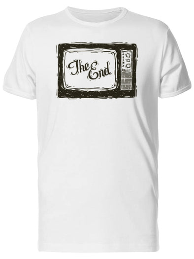 The End / Old Tv Tee Men's -Image by Shutterstock