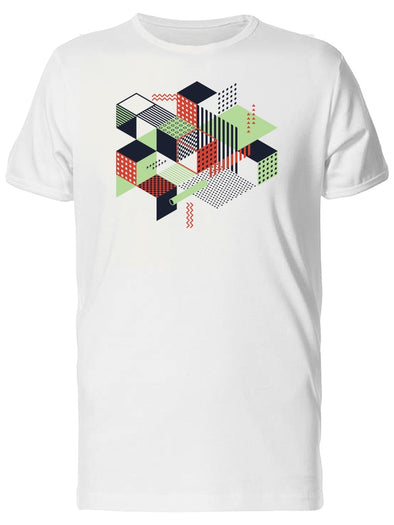 Abstract Geometric Style Art Tee Men's -Image by Shutterstock