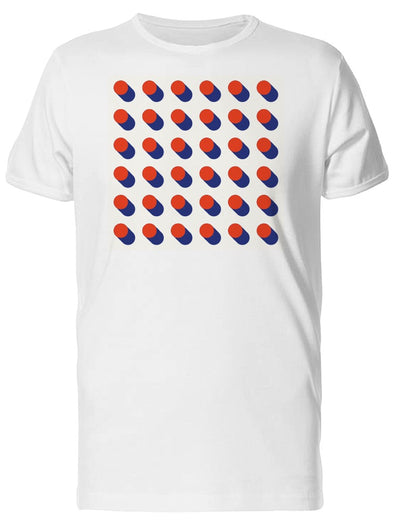 3D Circles Geometric Pattern Tee Men's -Image by Shutterstock