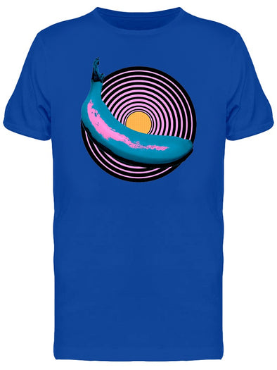 Music Vibes Banana Modern Art Tee Men's -Image by Shutterstock