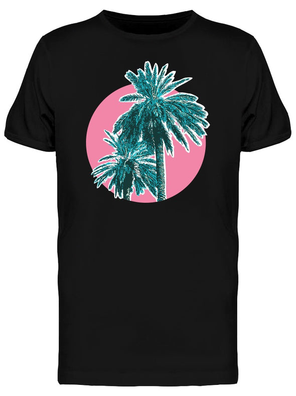 Tropical Coconut Palm Trees Tee Men's -Image by Shutterstock