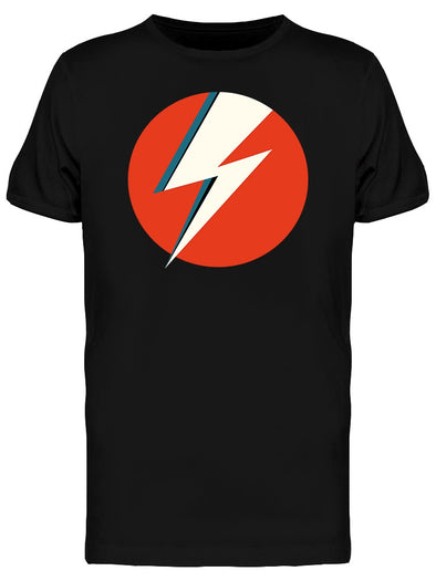 Lightning Red Thunderbolt Tee Men's -Image by Shutterstock