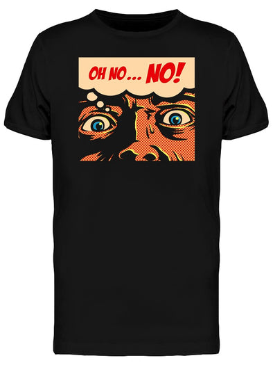 Pop Art Panic Tee Men's -Image by Shutterstock