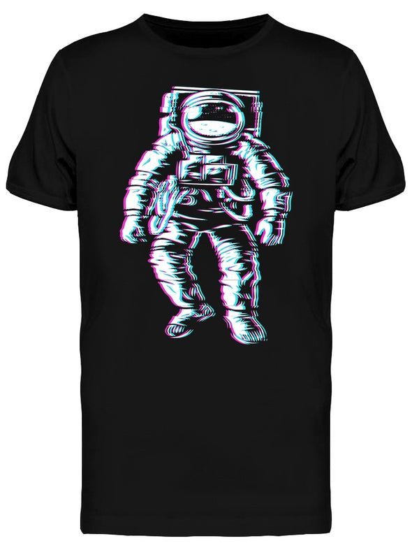 Moon Landing Astronaut Graphic Tee Men's -Image by Shutterstock