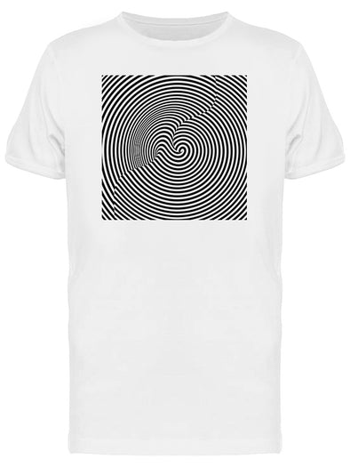 Hypnotic Optical Pattern Tee Men's -Image by Shutterstock