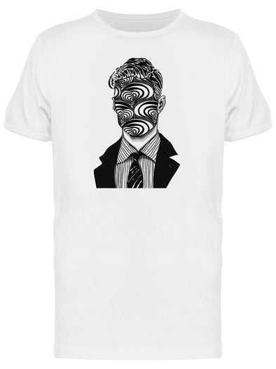 Abstract Business Man Graphic Tee Men's -Image by Shutterstock