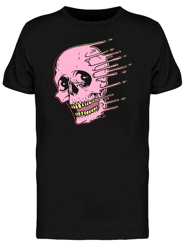 Liquid Skull Urban College Art Tee Men's -Image by Shutterstock