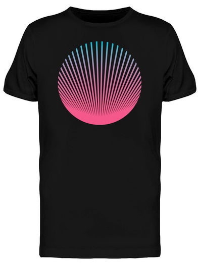 Holo Circle Vaporwave Style Tee Men's -Image by Shutterstock