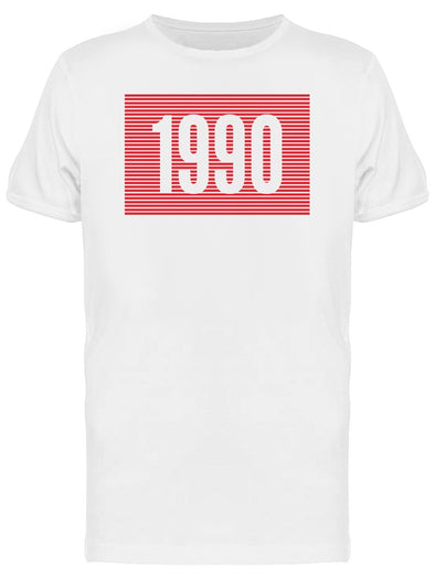 Retro 1990 Graphic Tee Men's -Image by Shutterstock