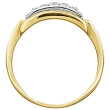 Load image into Gallery viewer, Diamond Mens Ring in 10K Yellow Gold (0.50ct tw)