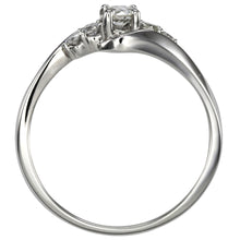 Load image into Gallery viewer, Diamond Cluster Ring in 14K White Gold (0.25ct tw)