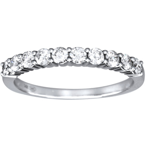 Classic Diamond Anniversary Band in 14K White Gold (0.50ct tw)