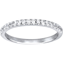 Load image into Gallery viewer, Diamond Wedding Band in 18K White Gold (0.24ct tw)