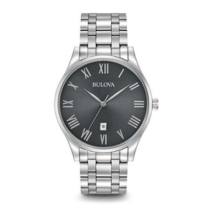 Bulova Men's Stainless Steel Bracelet Watch | 96B261