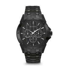 Load image into Gallery viewer, Bulova Men's Quartz Stainless Steel Dress Watch | 98C121