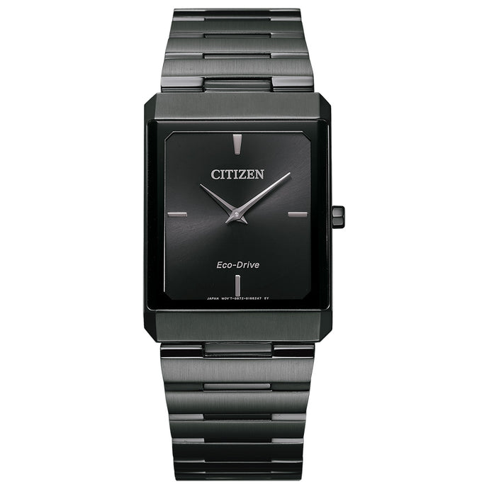Citizen Stiletto Men's Tank Watch In Black Dial | AR3107-57E