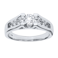 Load image into Gallery viewer, Diamond Engagement Ring in 14K White Gold (1.00 ct tw)