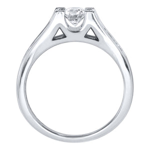 Diamond Engagement Ring in 14K White Gold (1.00 ct tw)