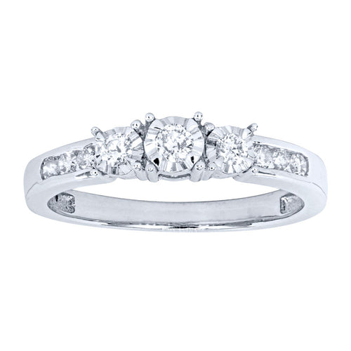 Miracle Mark Ring in 10K White Gold (0.25ct tw)