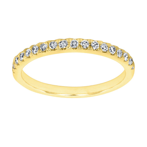 Matching Diamond Wedding Band in 14K Yellow Gold (0.20 ct tw)